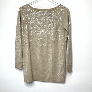 Alice + Olivia Sweater Sz XS Sequin Long Sleeve
